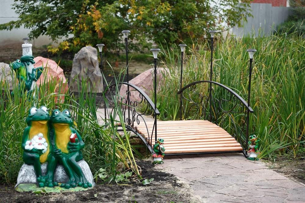 Мостик декоративный для сада