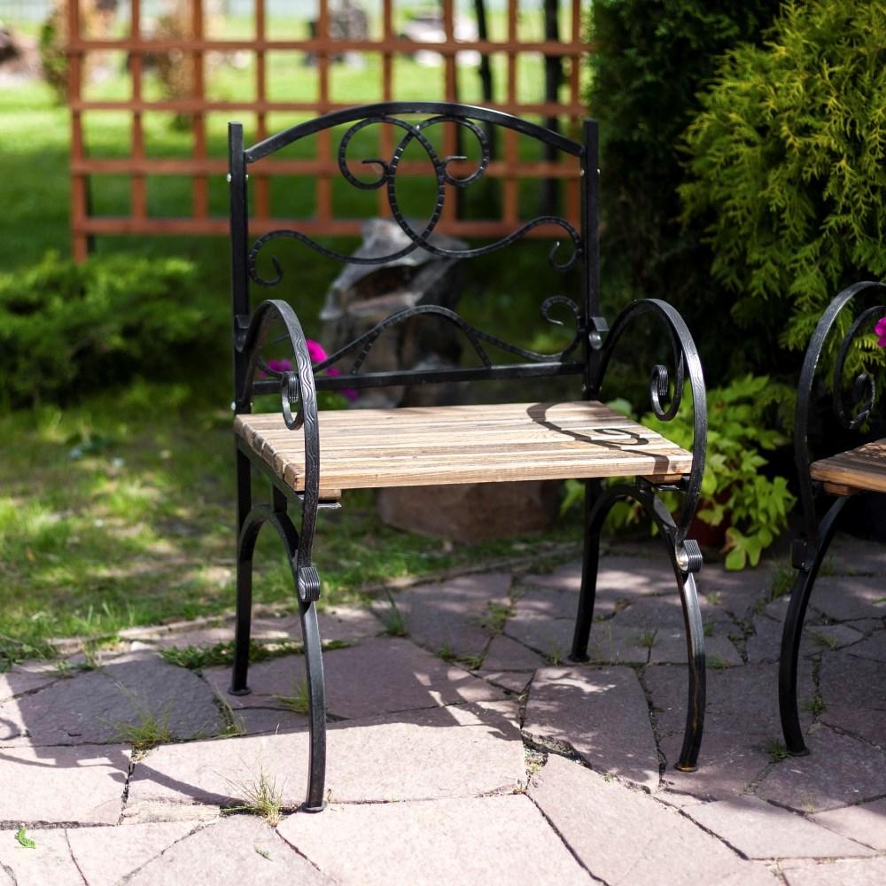 Кованое кресло - фото 47181