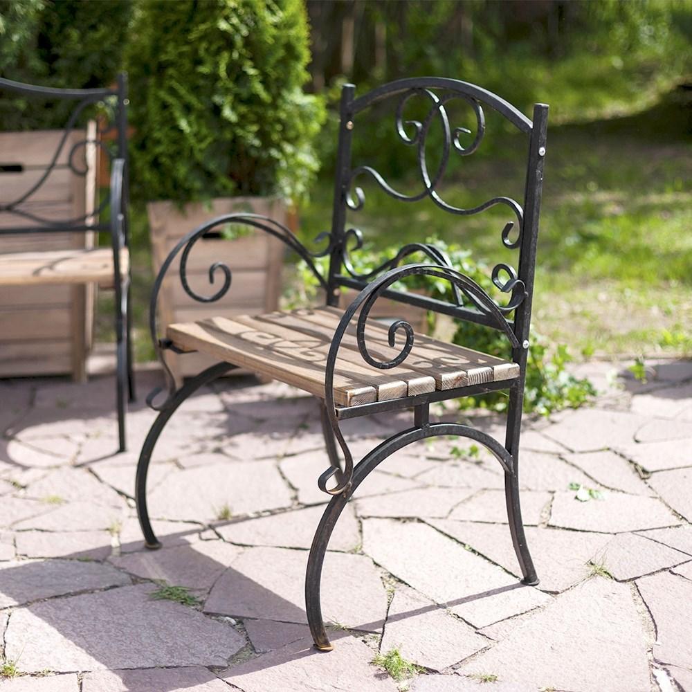 Кованое кресло - фото 47182
