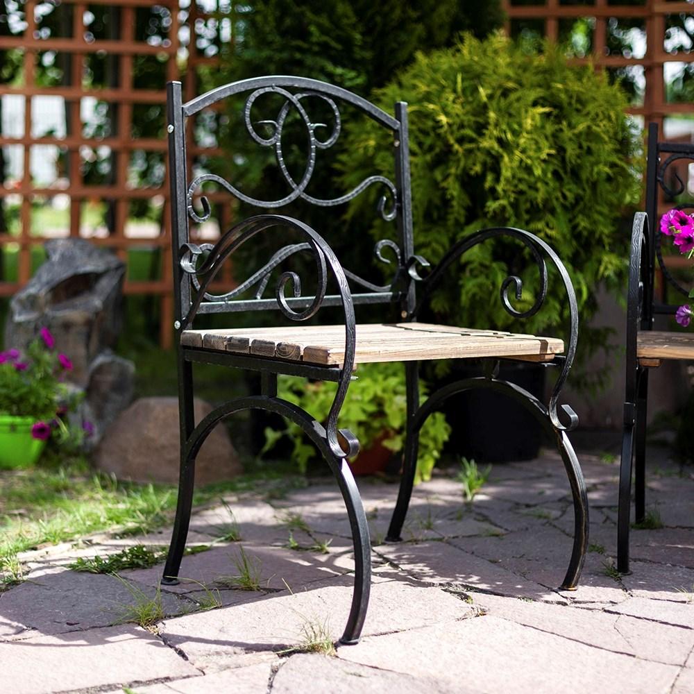 Кованое кресло - фото 47183