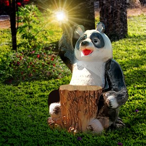 Садовый светильник Панда