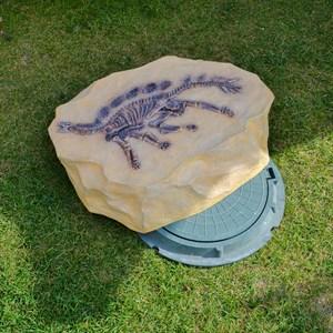 Крышка люка Скелет Стегозавра