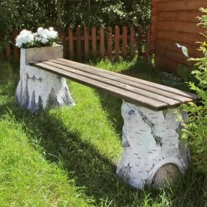 Садовая лавка Пни