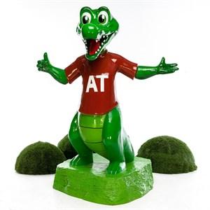 Рекламная фигура Крокодил