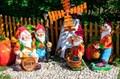 Садовые фигурки из полистоуна