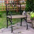 Кресло дачное из металла