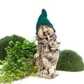 Садовая фигура Гном с трубкой - фото 51895