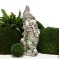 Садовая фигура Гном с трубкой - фото 53283