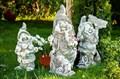Садовая фигура Гном с трубкой - фото 57139
